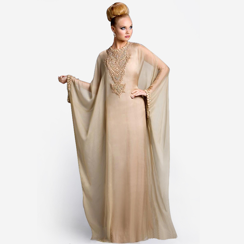 Buy New Arrival Kaftan 2014 Dubai Fancy Farasha Abaya Islamic Long