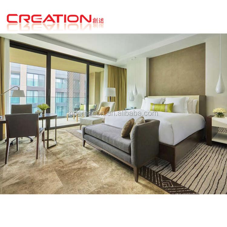 नई डिजाइन संक्षिप्त शैली 3-5 स्टार अनुकूलित होटल बेडरूम फर्नीचर