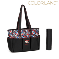 Colorland Cheap Price Fashion Mummy Baby Travel Bag Women Tote Shoulder Bag