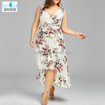 Plus Size Floral Casual Chiffon Maxi Dresses - Buy Chiffon Maxi  Dresses,Casual Chiffon Dress,Plus Size Dress Product on Alibaba.com