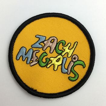 Cheap clothing iron on Custom embroidered patches