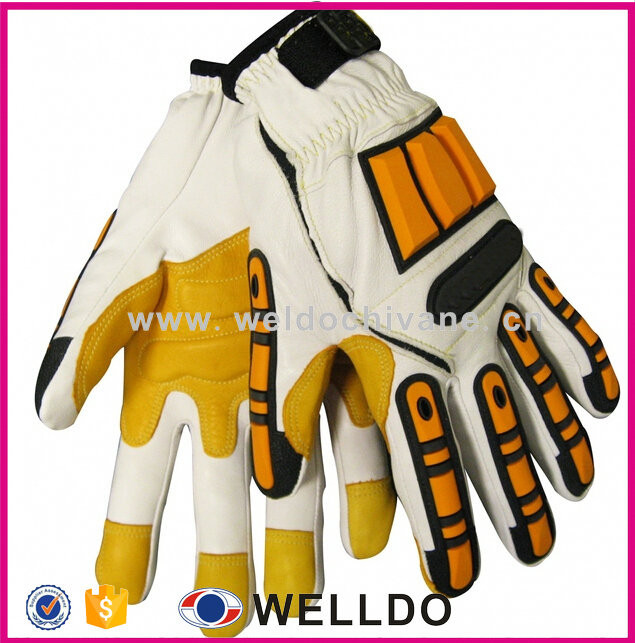 Custom Mechanic Gloves/working Glove/tpr Safety Glove