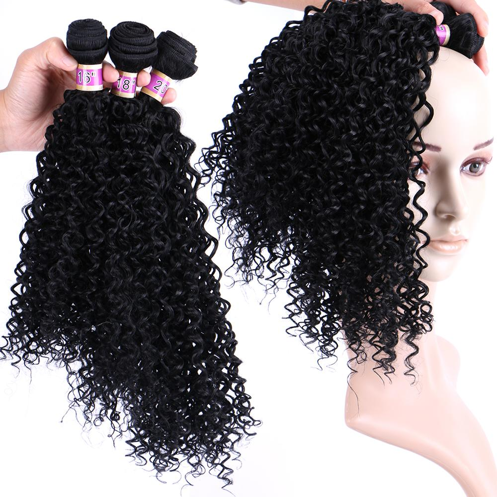 Hot Sale Aliexpress Black Afro Kinky Curly Synthetic Crochet Hair