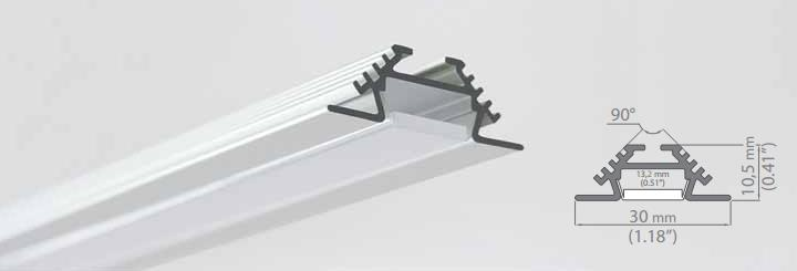 Shenzhen LED Aluminum Profile /LED Light Strip Supplier/LED Aluminum Channel/Aluminum Extrusion Profile For Led Strip Light