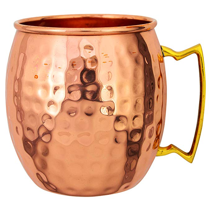 Top Quality 100% Pure Copper Hammered Moscow Mule Mug new beeg mug