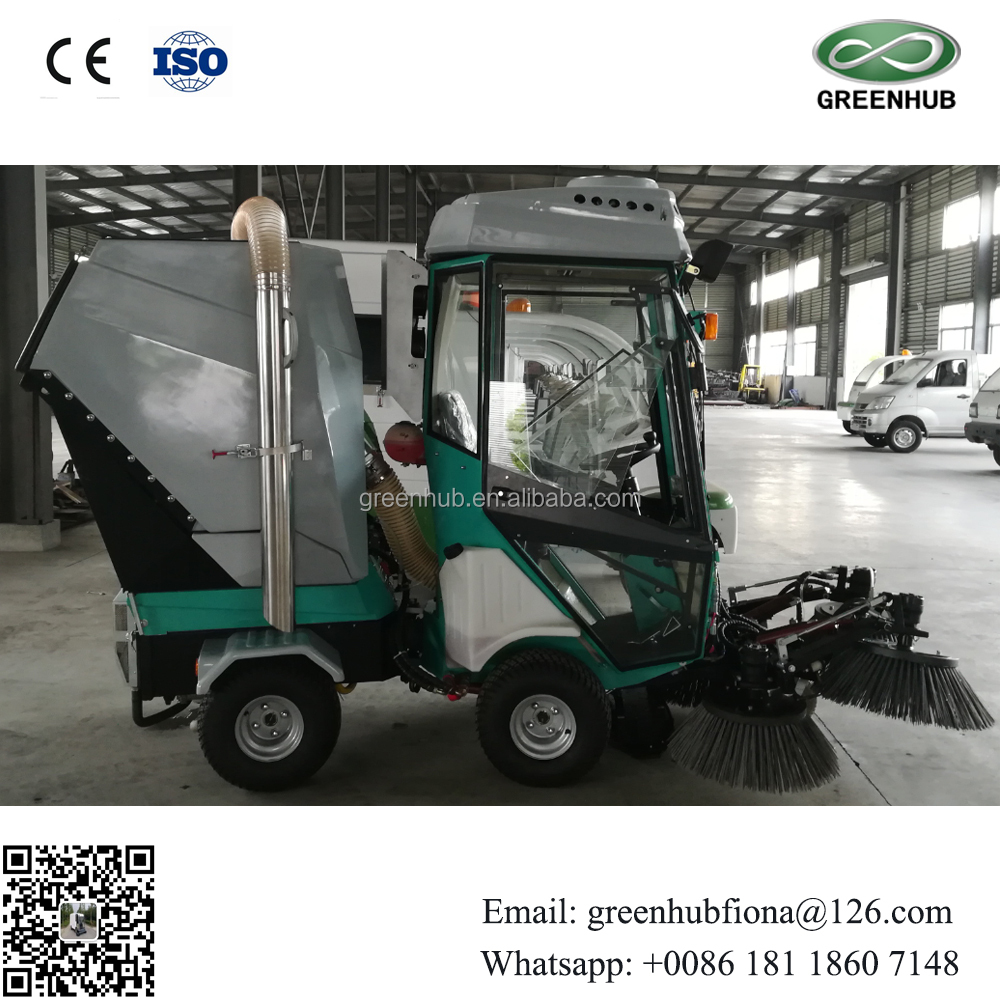 Diesel Road Sweeper Vacuum Street sweeper