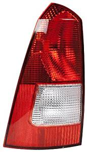 OE Replacement Ford Focus Driver Side Taillight Assembly (Partslink Number FO2800192)