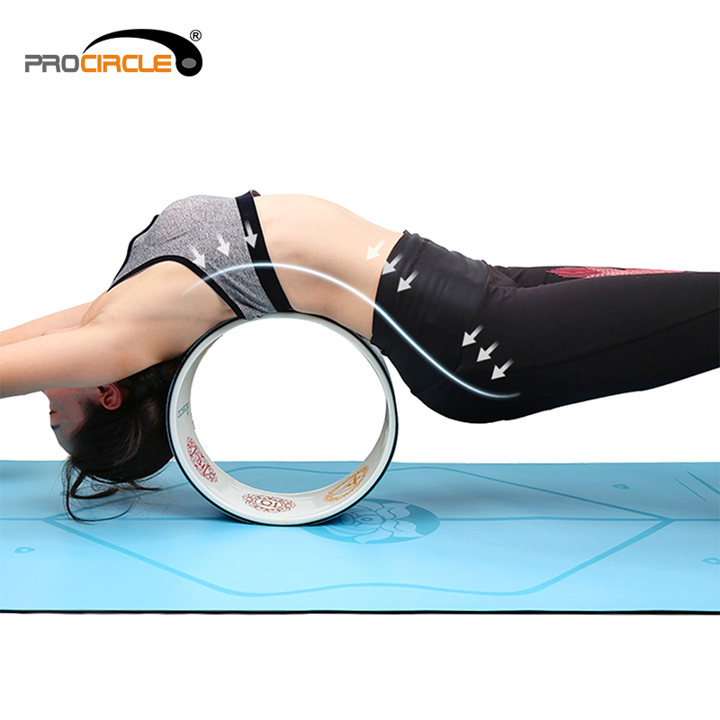 ProCircle Exercise Fitness Gym Exercise Yoga Wheel for stretching