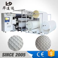 machine for quilting, duvet making mattress machines