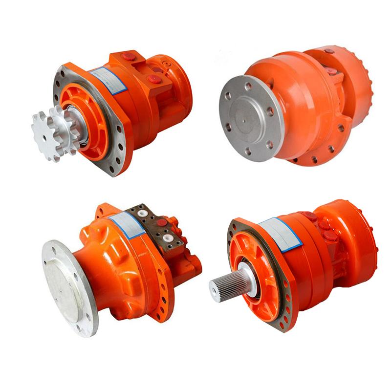 Jinjia brand replace rexroth MCR Series MCR3/MCR5/MCR10/MCR15/MCR20 radial piston hydraulic motor for sale