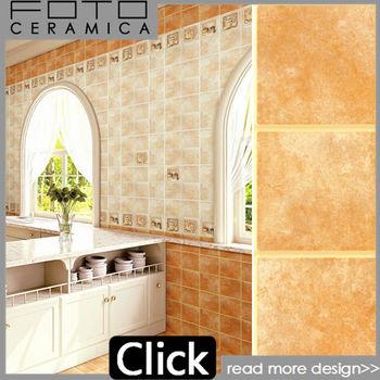 Brick Look Ceramic Tile Rustic Design Use In Kitchen Bathroom 300 ...