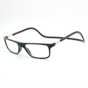 e9505793690 High quality magnetic reading glasses black color magnet reading glasses for  men and women
