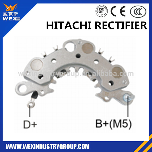 auto spare parts car rectifier hitachi alternator / TRANSPO IHR741 MOBILERTON RH-78