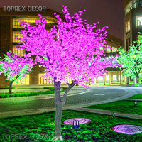 CE ROHS IP65 Waterproof 1m led cherry blossom tree lamps