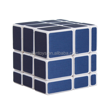 Y9831j 5.7cm Yongjun Blue Color Mirror Magic Cubes 3x3 Diy Toys ...