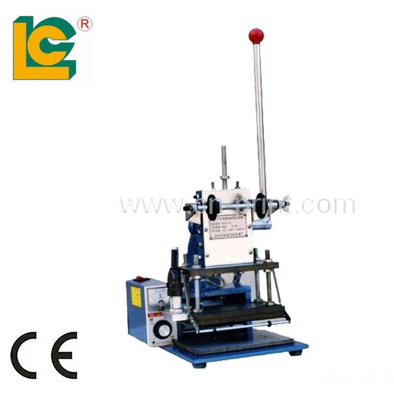 wholesale good quality manual Embossing Foil machine TH-180 for invitation card, trademark