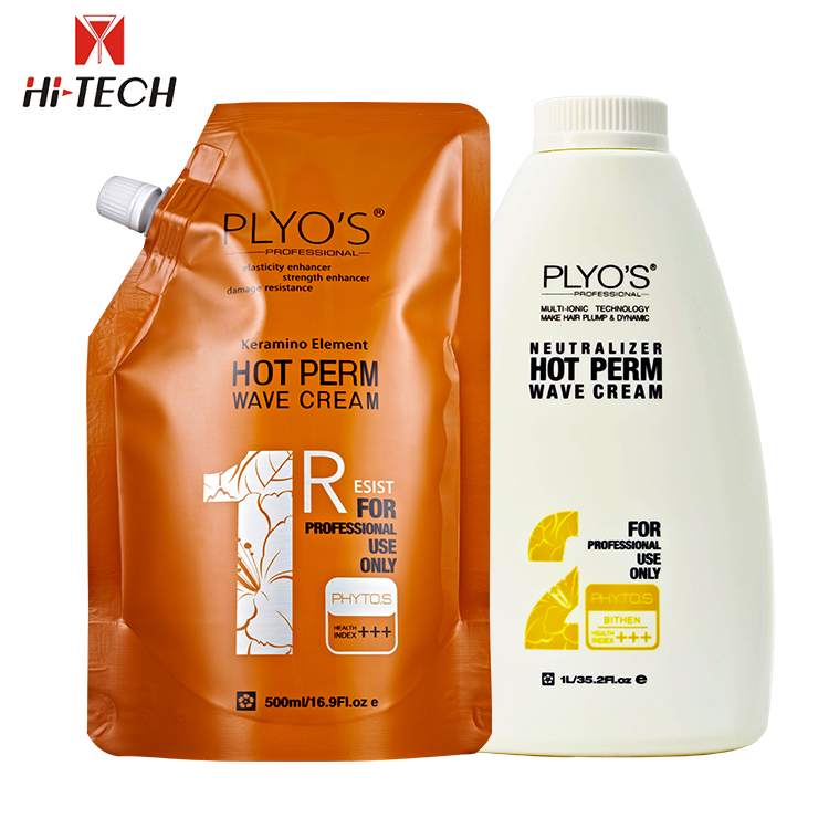 Anti Frizz organic Wave lotion Brands permanent straightening Hair Perm