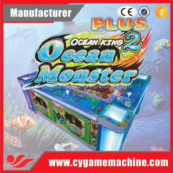 Catching Fish Ocean Monster Arcade Game Table Fish Video Game to USA