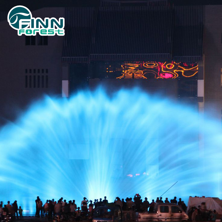 Advertisement waterfall water screen fountain for shopping mall