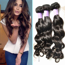 double weft virgin hair extension wholeale Mona Hair latest hot selling natural wave filipino short human hair weave