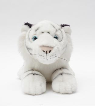 Customized Super Quality Stuffed Animal Plush White Tiger Soft Toy