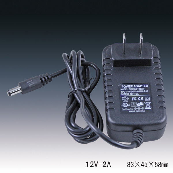 12v 2a ad dc adapter 220vac to 12vdc ac adaptor power supply adapter