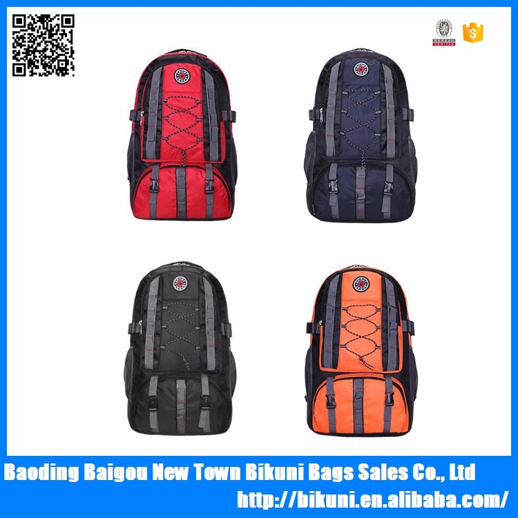 Cheap 600D young big backpacks sport bag for outdoor travelling