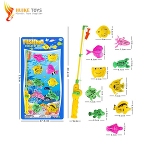 Good quality kids plastic toy bath fishing game toy in 2018