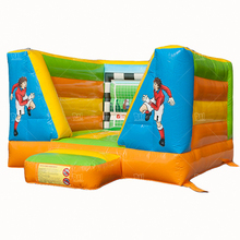 Great promotion nice and durable tarpaulin football field inflatable bouncer