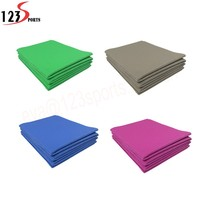 Gym exercise Eco friendly Natural promotional pvc foldable yoga mat