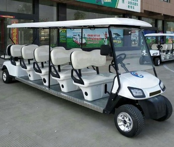 12 Seater Electric Golf Cart Parts Tourist Car Roof Accessories