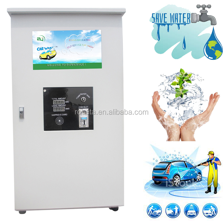 3 function self service car wash foam machine / touchless car wash equipment