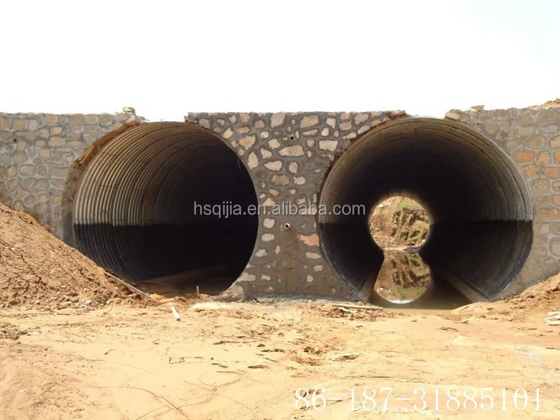 Construction Steel Drain Pipe Drainage Pipe Driveway