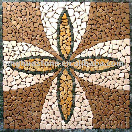 Broken Tile Irregular Mosaic Patterns For Road Paving - Buy ...