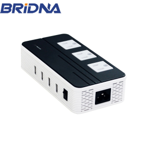 New Arrival 200W Universal Adapter 220v to 110v Step Down Travel Voltage Converter with 3 USA Outlet