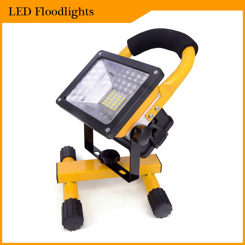Outdoor Flood Light Portable: The Best 2400Lm Portable Floodlight Led Rechargeable Flood