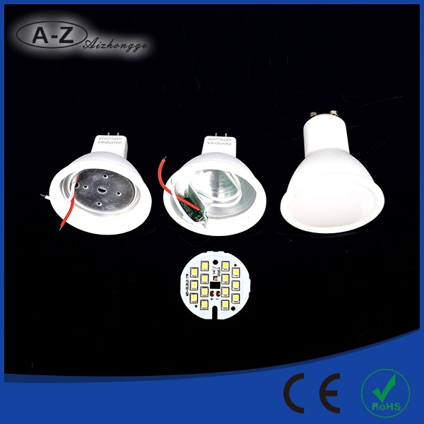 Factory made fast delivery 400 lumen GU10 led lamp bulb