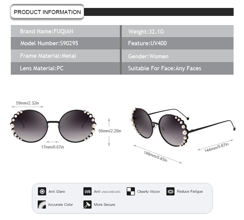 Fuqian Wholesale polarized lens sunglasses Supply for women-9