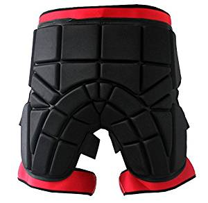 Mounchain Unisex Protective Shorts Hip Butt EVA Pad Short Pants Heavy Duty Protective Gear Guard Drop Resistance Ski Skiing Skating Snowboard Cycling Fits Kids Teens Adults