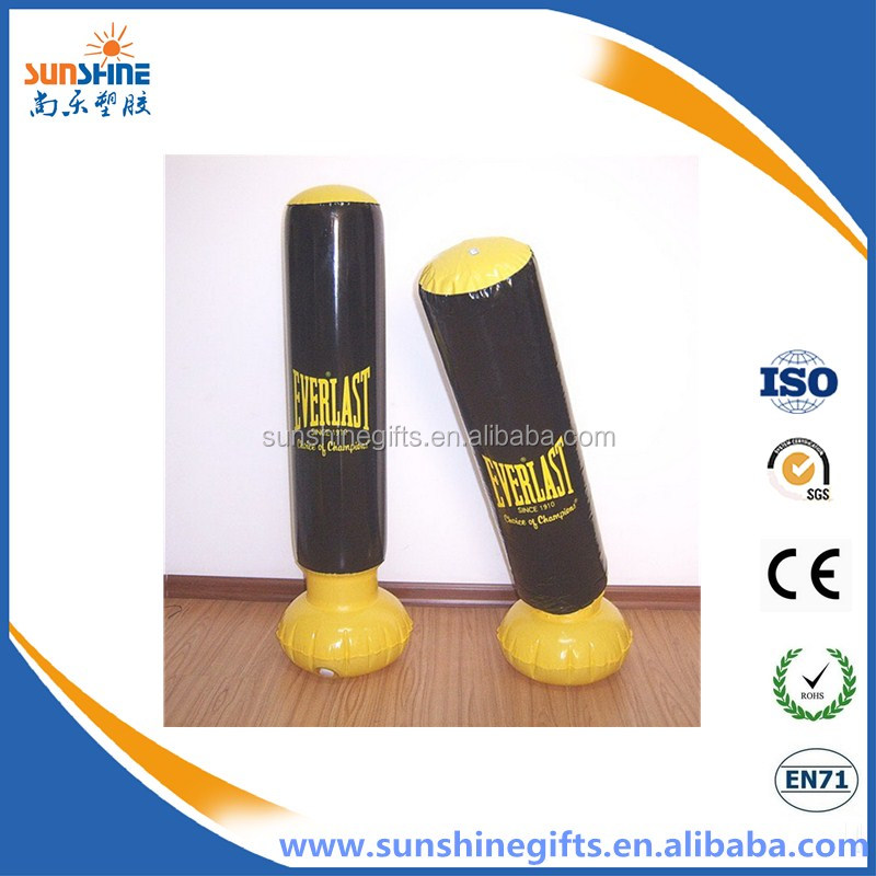 custom product inflatable PVC punching bop bag for adult&kids