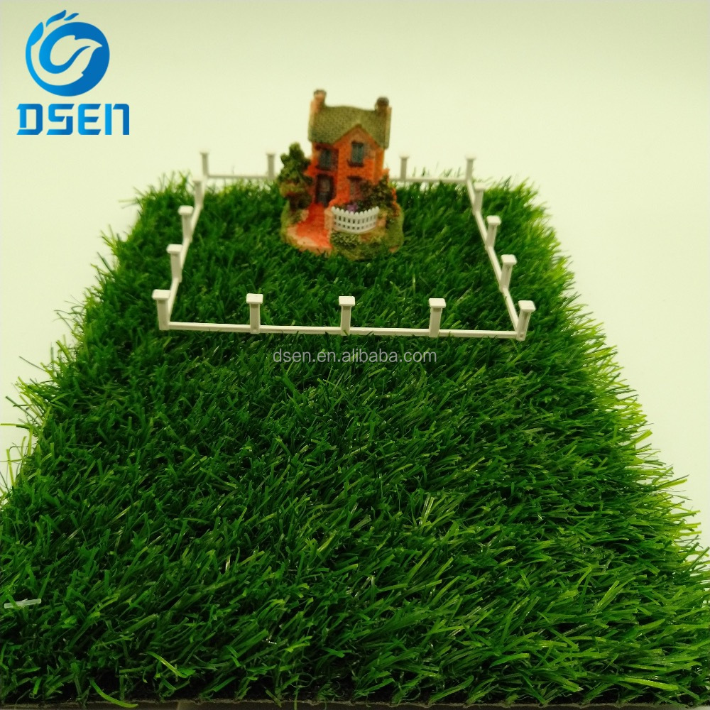 economic 25mm spine mono KDK thatch landscape lawn artificial turf grass wall mat price