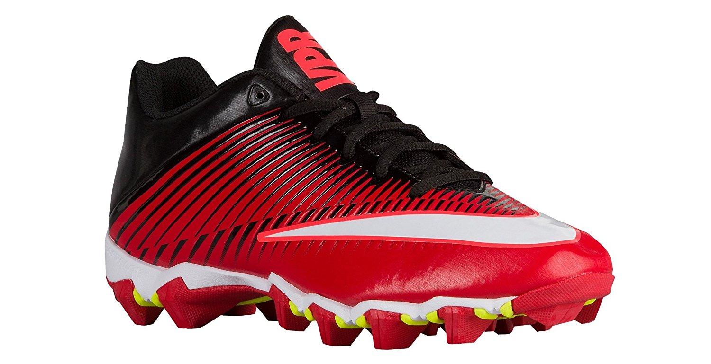 76102948df2 Mens Nike Vapor Shark 2 Football Cleat University Red Black Total  Crimson White