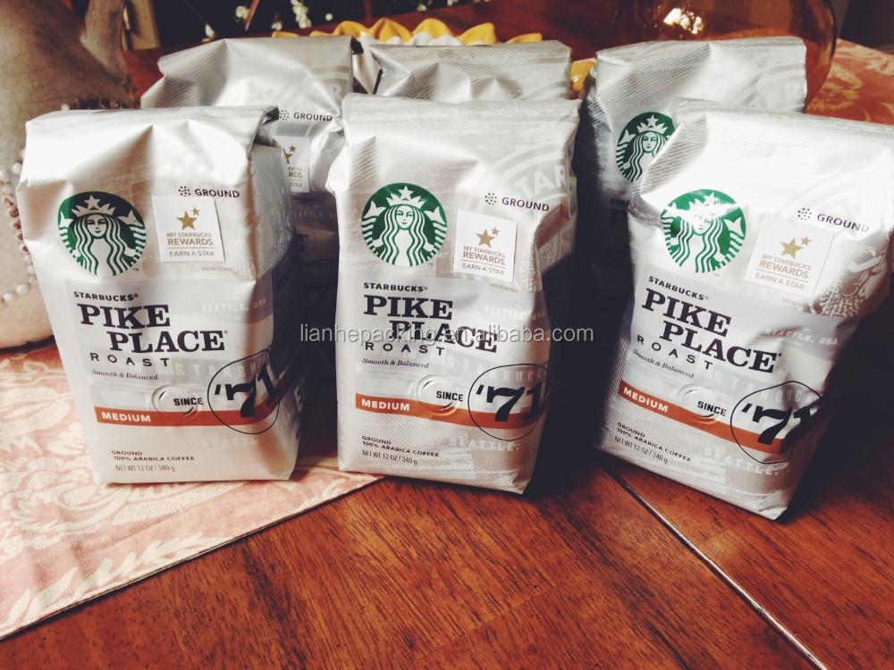 Laminated Coffee Bags Aluminum Foil Coffee Bags Kraft Paper Coffee