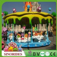 Fantastic Candy Carousel rides equipment merry go round candy tree,merry go round candy tree