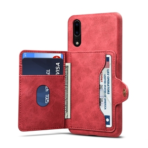 Credit card PU case skin back cover for Huawei P20