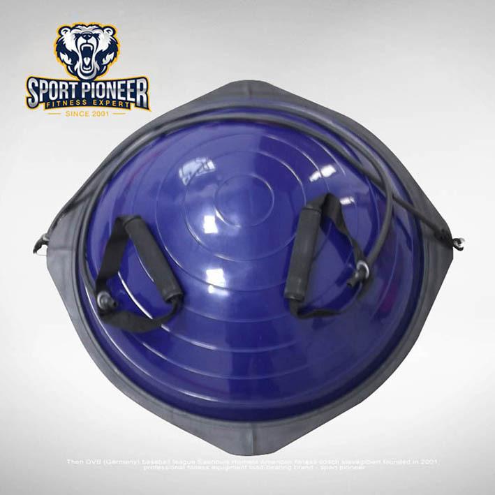 Bosu Ball Air Pump: Wholesale PVC Pilates Balance Trainer Bosu Ball
