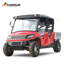 New 6- Seat Heavy Duty Manual 1200CC Farm Side By Sides 4x4 UTV