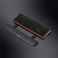 Custom RGB LED Wired Programmable Mechanical Gaming Keyboard