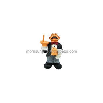 Funny Waiter Novelty Resin Toilet Paper Holder Buy Resin Toilet
