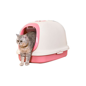 Plastic cat toilet box pet grooming Products for sale